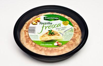 Tortilla Fresca con cebolla